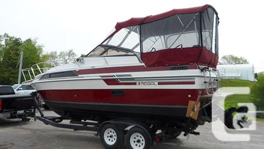 $6,295 1987 Regal 255 XL Boat for Sale