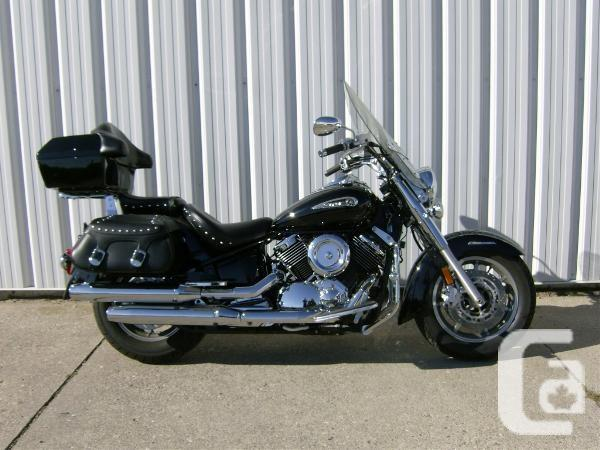 $6,395 2009 Yamaha V-Star 1100 Silverado Motorcycle for