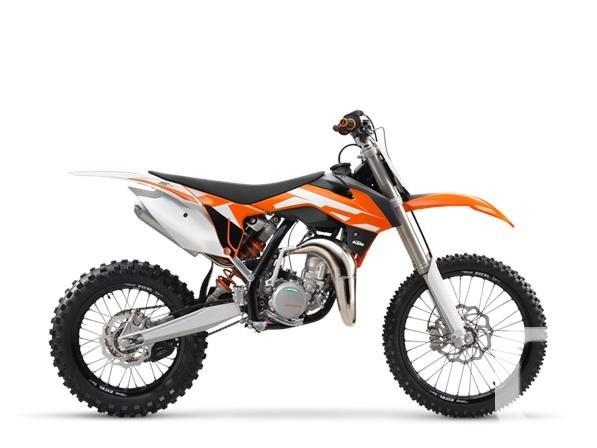 $6,399 2016 KTM 85 SX 17/14 Motorcycle for Sale