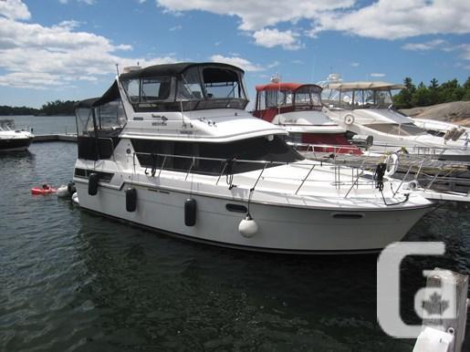 $62,500 1989 Carver 3807 Aft Cabin Boat for Sale