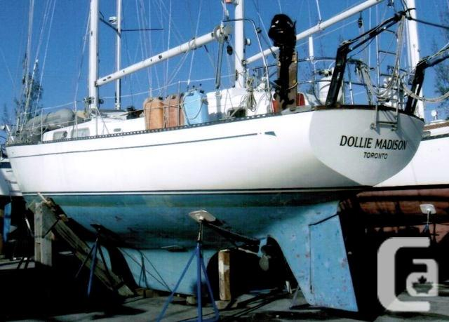 $65,000 1981 Hughes Hughes 40 Ketch Boat for Sale