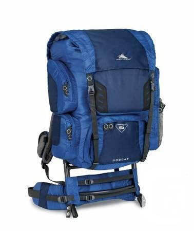 65L External Frame Backpack - $120