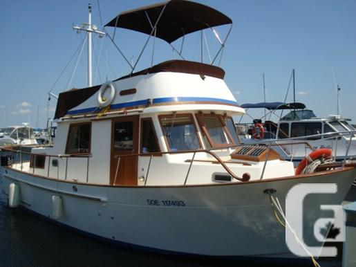 $69,000 1986 Sea Lord 34 Double Cabin Boat for Sale