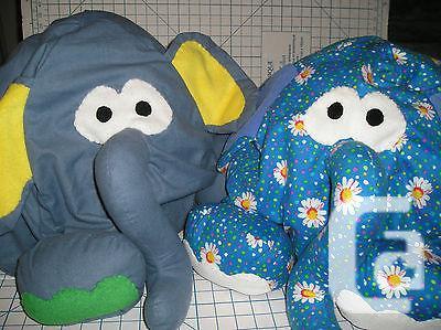 $69 Bean Bag Elephant Chair for Kids - Flannel Fabric