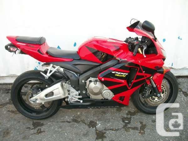 $7,495 Weekly 2006 Honda CBR600RR (CBR600RR) Motorcycle