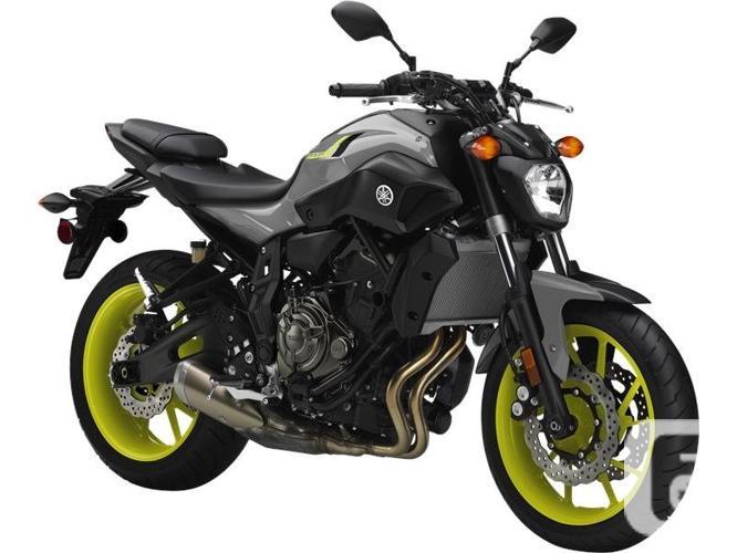 $7,592 2016 Yamaha FZ-07 Bluish Solid Gray Motorcycle