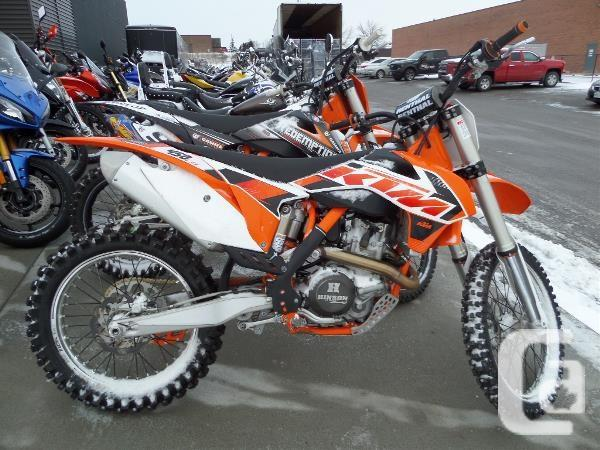 $7,750 2015 KTM 450 SX-F Motorcycle for Sale