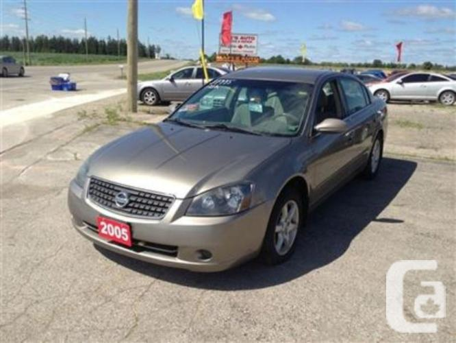 used 2005 nissan altima 2 5 s for sale in london ontario classifieds. Black Bedroom Furniture Sets. Home Design Ideas