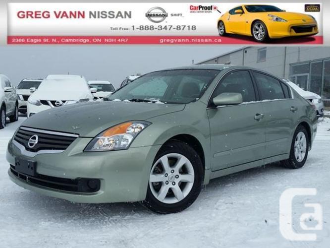 $7,995 Used 2008 Nissan Altima 2.5 S