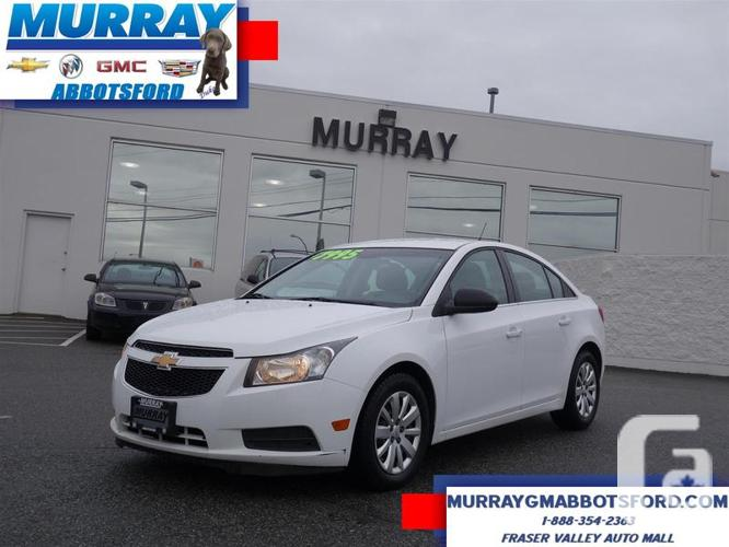 used 2011 chevrolet cruze 2ls with bluetooth and 6 speed automatic transmission for sale in. Black Bedroom Furniture Sets. Home Design Ideas