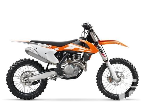 $7,998 2016 KTM 450 SX-F Motorcycle for Sale