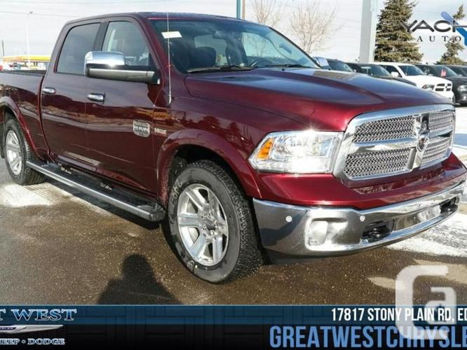 new 2016 ram 1500 longhorn for sale in edmonton alberta classifieds. Black Bedroom Furniture Sets. Home Design Ideas