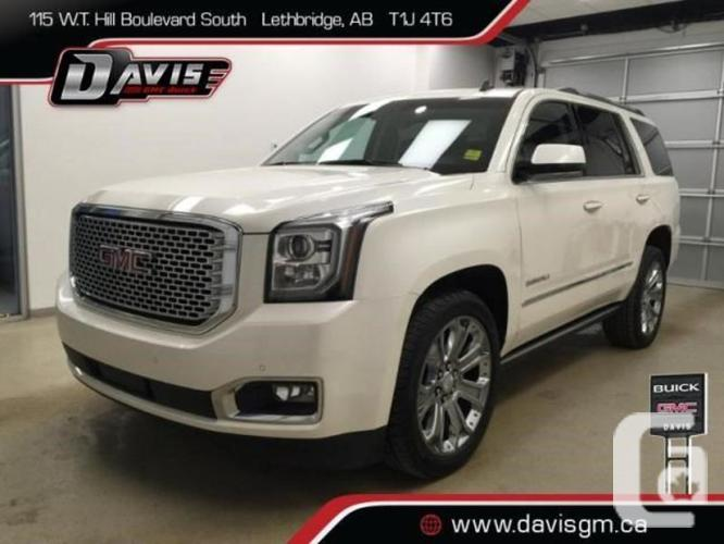 used 2015 gmc yukon denali for sale in medicine hat alberta classifieds. Black Bedroom Furniture Sets. Home Design Ideas