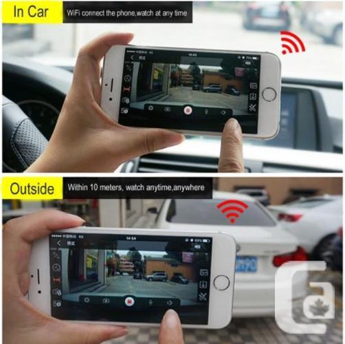 720P Hidden Wifi Dash Camera Camcorder Monitor