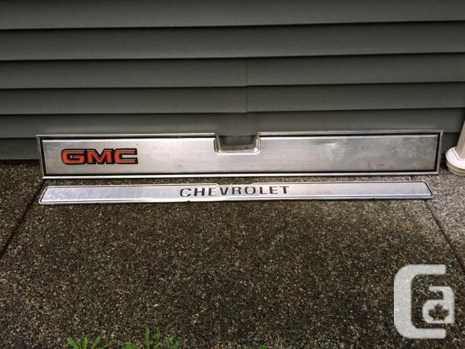 73 - 87 Chev Or GMC tailgate