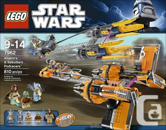 ++++7962 LEGO Star Wars: Anakin Skywalker and Sebulba's