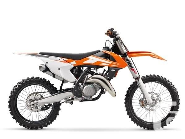 $8,249 2016 KTM 125 SX Motorcycle for Sale