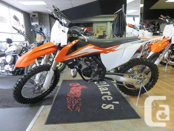 $8,666 2016 KTM 125 SX Motorcycle for Sale