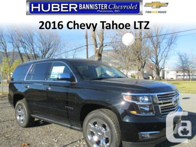 2016 chevrolet tahoe ltz 0ft for sale in penticton british columbia classifieds. Black Bedroom Furniture Sets. Home Design Ideas