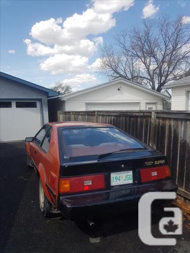 82' Toyota Supra/Celica *PROJECT*