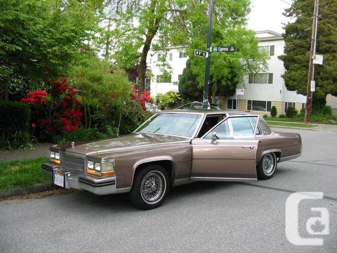 84 Cadillac, Fleetwood Brougham D'Elegance, DETROIT