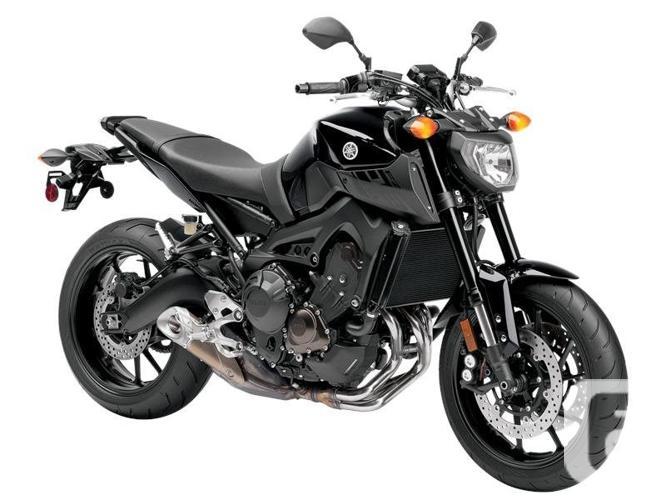 $9,199 2016 Yamaha FZ-09 Metallic Black Motorcycle for