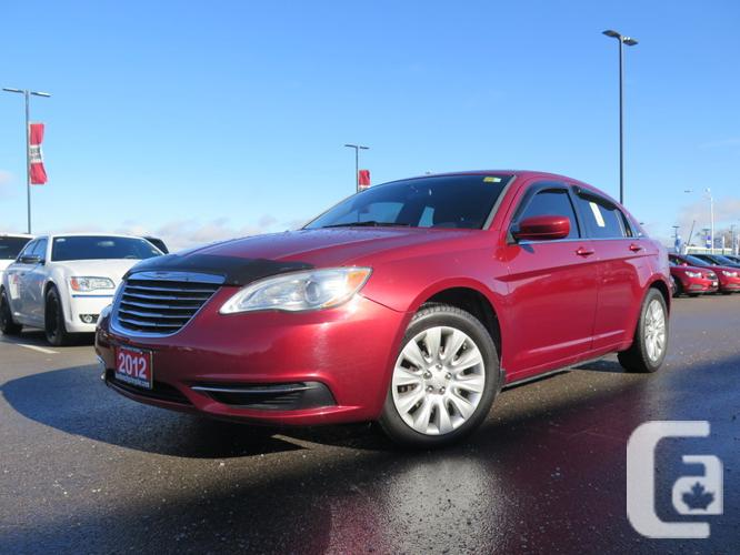 $9,733 Used 2012 Chrysler 200