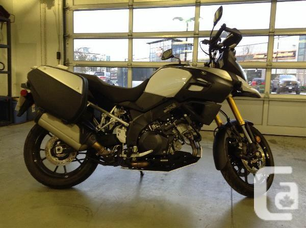 $9,999 2014 Suzuki V-Strom 1000 ABS SE Motorcycle for