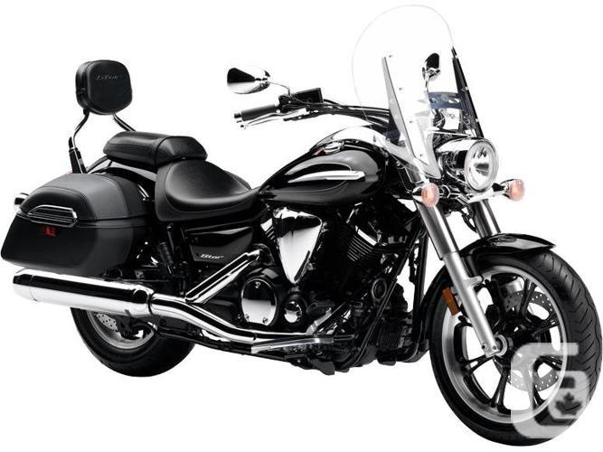 $9,999 2016 Yamaha V-Star 950 Tourer Metallic Black