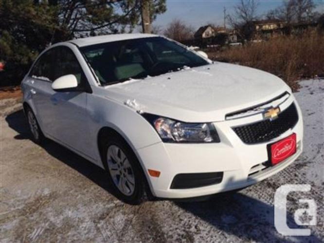 $9,999 Used 2012 Chevrolet Cruze LT Turbo