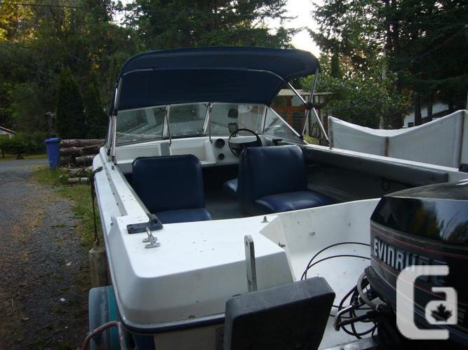 93 Campion1650, 93Evinrude-90hp, 93 Easyloader trailer