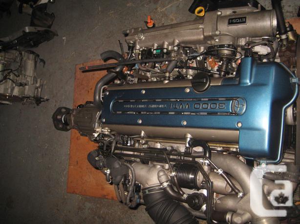 97 01 TOYOTA SUPRA 2JZ TWIN TURBO VVTI ENGINE SWAP JDM 2JZGTE ENGINE