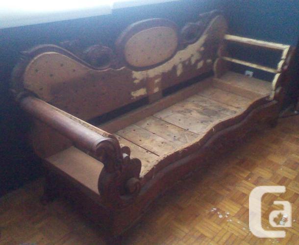 A Real 19th Century Victorian Sofa Frame (Restoration