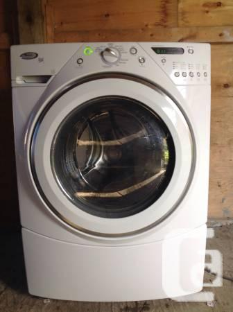 A. Year-old whirlpool duet frontload washer with