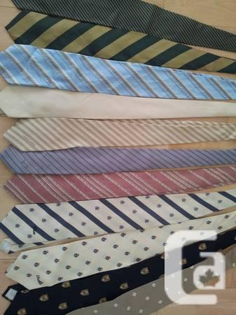 ABANDONED and fRESH 17 Neckties 1 Scarf -- Armani