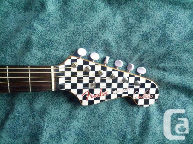 Acoustic Elec. guitar Fender Sonoran Duane Peters 61
