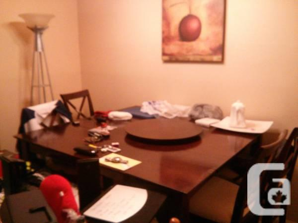 Actual wood Dinning room table - $300