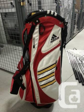 Adidas Taylormade Golf Stand Bag Red/White/Yellow - $40