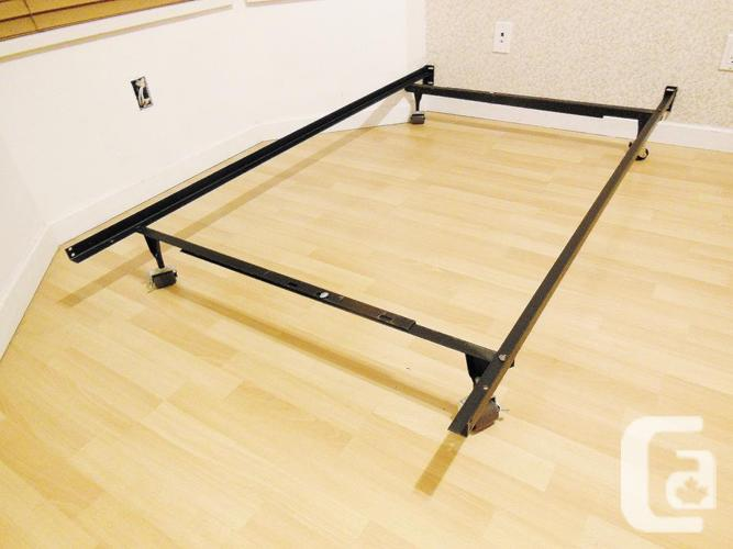 Adjustable Metal Bed Frame - Twin to Queen