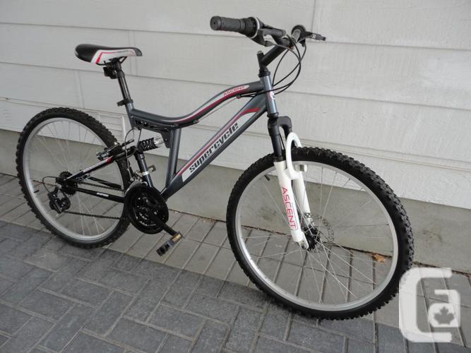 Adult Size 21 Speed Full Suspension Mountain Bike!