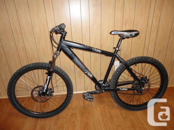 Adult Size NORCO Rival Mountain Bike With Disc Brakes!
