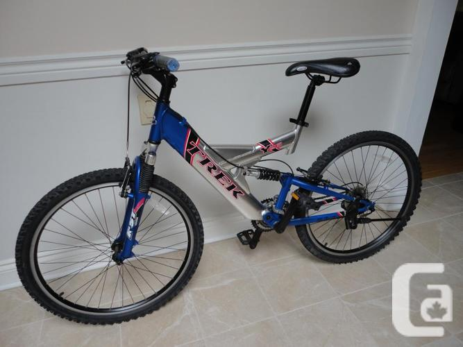 Adult Size TREK Full Suspension Mountain Bike!