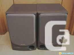Aiwa SX-N990 3 Way 80 watts Book Shelf Speakers