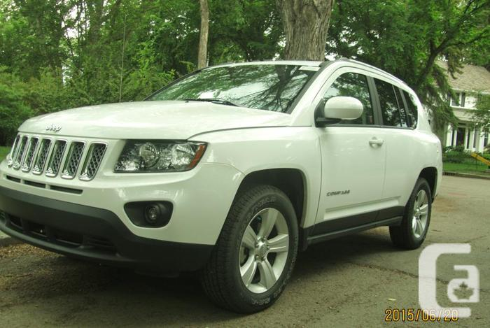 almost brand new jeep compass north for sale in nisku alberta classifieds. Black Bedroom Furniture Sets. Home Design Ideas
