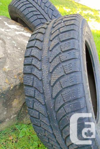 Almost new Champiro Ice Pro Snow Tires