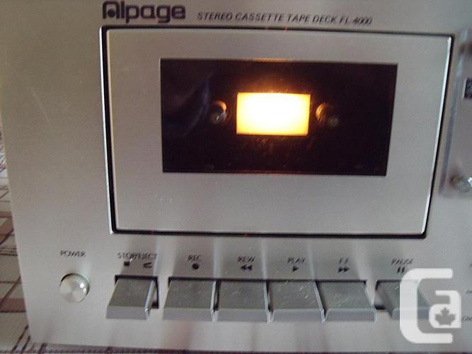 ALPAGE Stereo Cassette Deck FL-4000