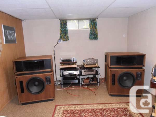 Altec model 19 speakers - $1600 in Windsor, Ontario for sale