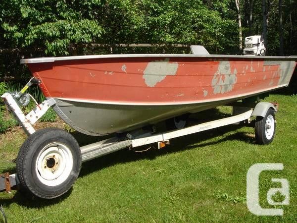 Alum fishing-boat HarberCRAFT - $2500