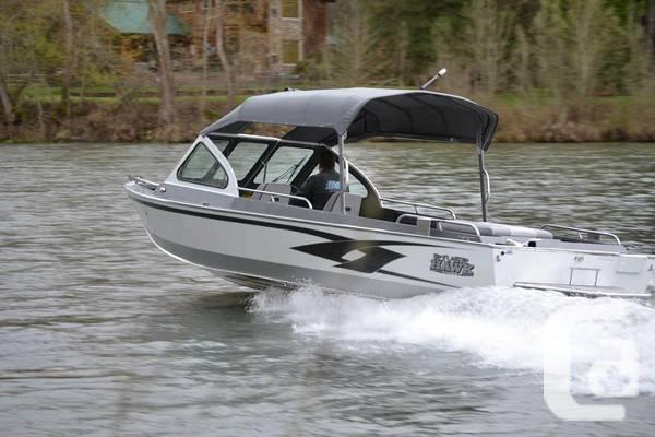 Aluminum jet boat deluxe package for sale in whitehorse Aluminum boat and motor packages