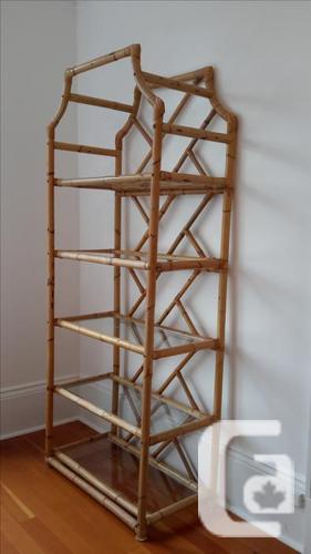 Amazing Bamboo Etagere